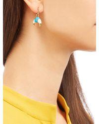 Aurelie Bidermann - Metallic Takayama Bakelite & Gold-plated Earrings - Lyst