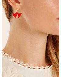 Aurelie Bidermann - Multicolor Tangerine Gold-plated Lacquered Earrings - Lyst