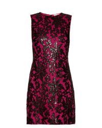 Diane von Furstenberg - Black 'kaleb' Dress - Lyst