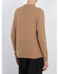 Acne - Natural Peele Wool-blend Sweater for Men - Lyst