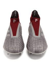 Adidas Originals - Gray Predator 18+ Football Trainers for Men - Lyst