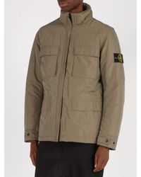 Stone Island - Multicolor High-neck Technical Jacket for Men - Lyst