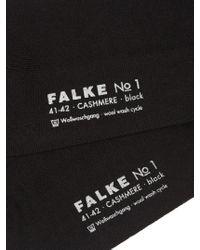 Falke | Black No.1 Finest Cashmere-blend Socks | Lyst