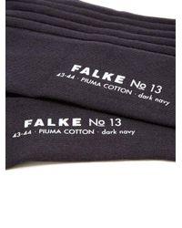 Falke - Blue N°13 Cotton-blend Socks for Men - Lyst