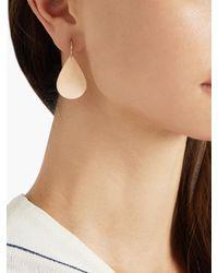 Irene Neuwirth | Metallic Rose-Gold Earrings | Lyst