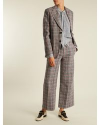 Joseph - Multicolor Ferrandi Prince Of Wales-checked Trousers - Lyst