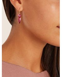 Irene Neuwirth - Pink Tourmaline & Rose-gold Earrings - Lyst
