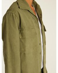 MYAR - Green 1980's M77 Spanish Air Force Cotton-blend Jacket - Lyst
