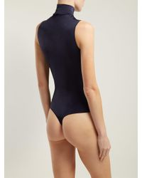 Wolford - Blue Sonja String Body - Lyst