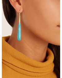Irene Neuwirth - Multicolor Turquoise & Yellow-gold Earrings - Lyst