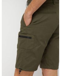 Wales Bonner - Green Short cargo en sergé de coton for Men - Lyst