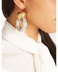 Ellery | Metallic Hush Tire Earrings | Lyst