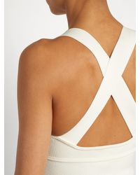 Khaite - White Alex Cross-back Knit Body - Lyst