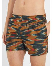 Missoni - Multicolor Large-zigzag Print Swim Shorts for Men - Lyst