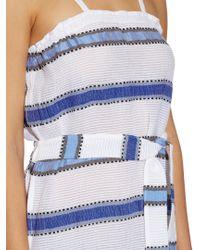 Lemlem - Blue Addis Multi-stripe Cover-up - Lyst