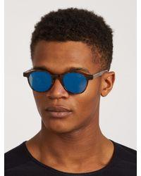 Retrosuperfuture | Multicolor The Iconic Series Mirrored Sunglasses for Men | Lyst