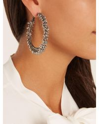 Rosantica By Michela Panero - Metallic Carmen Bead-embellished Earrings - Lyst