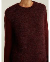 MiH Jeans - Multicolor Dawes Contrast Panel Wool Blend Sweater - Lyst