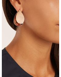 Charlotte Chesnais - Multicolor Petal Pink-gold Plated Earrings - Lyst
