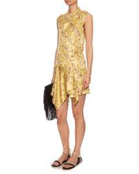 Isabel Marant   Multicolor Tabby Printed Silk Dress   Lyst