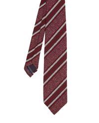 Dunhill - Purple Striped Silk-blend Tie for Men - Lyst