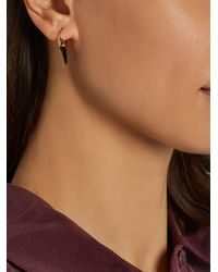 Theodora Warre - Black Onyx And Gold-plated Earrings - Lyst
