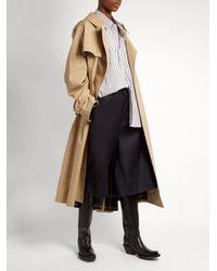 Vetements - Blue X Brioni Wide-leg Wool Shorts - Lyst