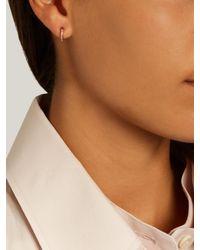 Ileana Makri - Sapphire & Pink-gold Earrings - Lyst