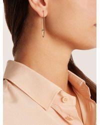 Monique Péan - Metallic Sapphire & Yellow-gold Earrings - Lyst