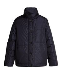 Joseph - Blue Douda Patch-pocket Padded Coat - Lyst