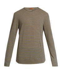 Barena - Multicolor Striped Long-sleeved Linen T-shirt for Men - Lyst