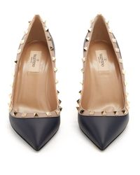 Valentino - Multicolor Rockstud Leather Pumps - Lyst