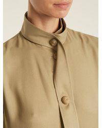 Joseph - Natural Harold Tie-waist Silk-blend Shirtdress - Lyst
