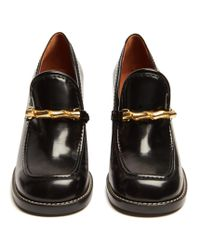 Joseph - Black Block-heel Leather Loafers - Lyst