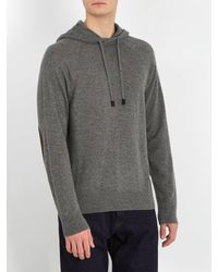 Berluti - Gray Hooded Cashmere Sweater for Men - Lyst