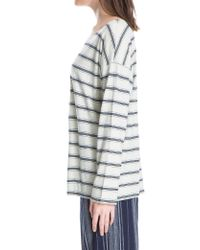 Leon Max - Multicolor Cotton Striped Top - Lyst