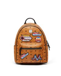 MCM - Multicolor Stark Backpack In Victory Patch Visetos - Lyst