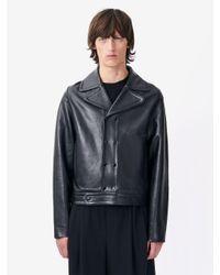 McQ | Black Moss Biker Jacket for Men | Lyst