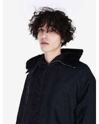 McQ Alexander McQueen - Black Parka for Men - Lyst