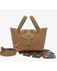 Meli Melo | Brown Thela Mini Cross Body Bag Light Tan Wonderplant | Lyst