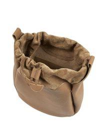 Meli Melo   Brown Alba Medium Shoulder Bag Light Tan   Lyst