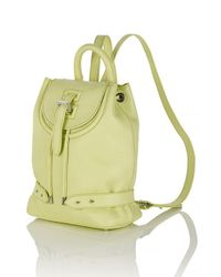 meli melo | Yellow Backpack Mini Lime | Lyst