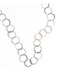 Melissa Joy Manning | Metallic Handmade Chain Necklace | Lyst