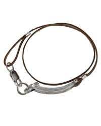 Gilbert Gilbert | Natural Boucle Camel Bracelet for Men | Lyst