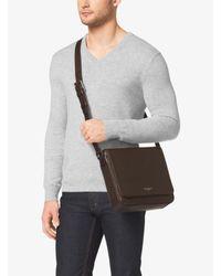 Michael Kors - Brown Bryant Medium Leather Crossbody for Men - Lyst