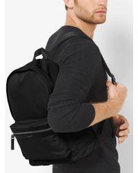 Michael Kors | Black Kent Nylon Backpack for Men | Lyst
