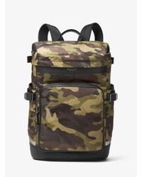 ece2c8b9c775 Michael Kors Kent Camouflage Cycling Backpack for Men - Lyst