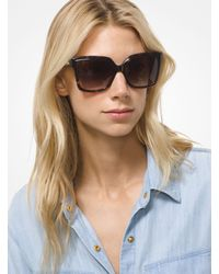 Michael Kors - Multicolor Cortina Sunglasses - Lyst