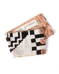Mignonne Gavigan | Aztec Bracelet Black / White | Lyst