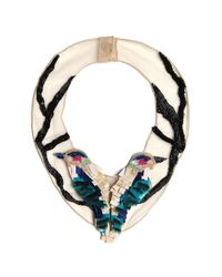 Mignonne Gavigan | Multicolor Birds Necklace | Lyst